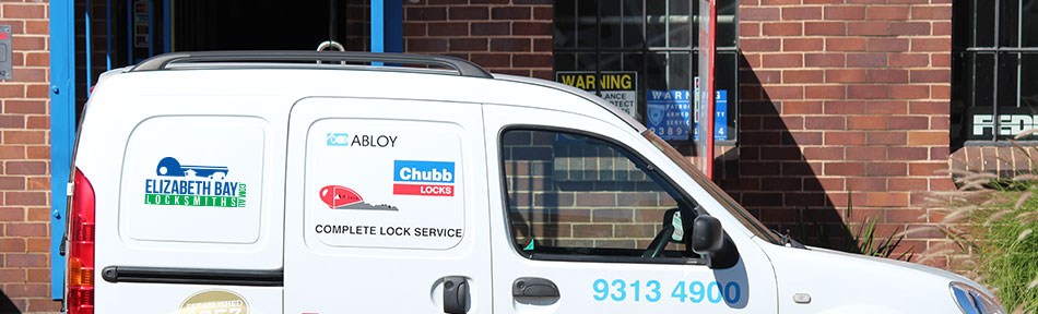 Locksmith in Elizabeth Bay